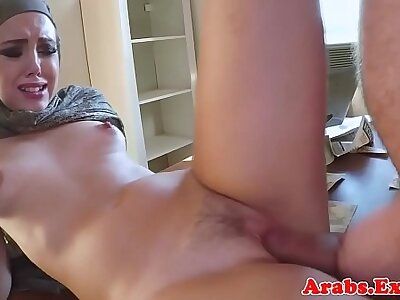 Arab amateur plowed before cum in mouth