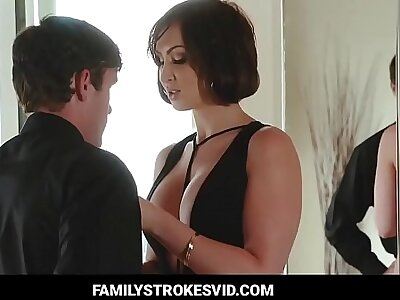 Aunt Unusual seduced his nephew hard ass fucked (pt 1) - Watch Part 2 claim b pick up Familystrokesvid.com