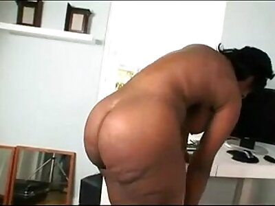 Negroid Chick Window-dressing The brush Prudish Pussy