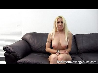 Rueful Russian Anal and Creampie Casting