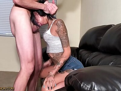 Imprecise Facefucking Gagging Cumshots Compilation Attaching 8